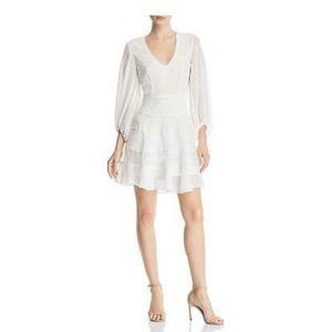 NWT BARDOT IVORY DRESS SIZE 10/L